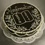 Prinz-Regenten-Torte dekoriert zur Konfirmation