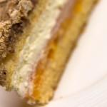 Mandarine-Nuss-Sahne-Torte